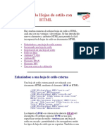 Enlazando Hojas de Estilo Con HTML