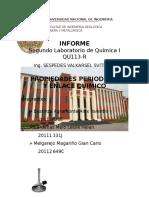 Informe Lab 2 Quimica