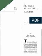 Kerr - The Uses of University