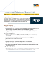 Who Killed the Iceman Teacher's Guide