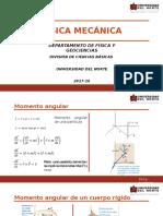 20. Momento Angular y Conservación de Momento Angular (1)