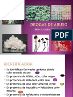 REACCIONES QUIMICAS DROGAS
