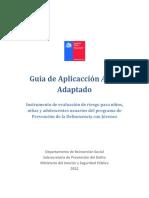 Guía de Aplicación ASSET