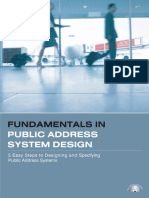 PA System Design Fundamentals (Book 1).pdf