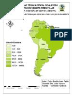 Mapa Sudamerica Deuda Externa