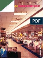 Lightolier Low Voltage Elbow Accent Light Brochure 1987