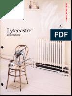 Lightolier Lytecaster Downlights Catalog 1988