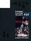 Lightolier Lytespan Low Voltage Brochure 1983