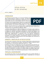 Capitulo 79 - Guías de Práctica Clínica y Documentos de Consenso