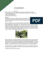 """""""La Calidad Del Paisaje en Los Parques Urbanos"""""""