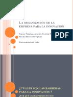 La Organización de La Empresa Para La Innovación