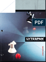 Lightolier Lytespan Track Lighting Systems Catalog 1990