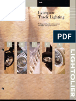 Lightolier Lytespan Track Lighting Systems Catalog 1996