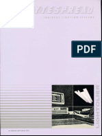 Lightolier Lytespread Indirect Fluorescent Brochure 1986