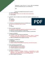 A Lei Auroca Regulamenta o Inciso VII Do