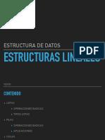 Estructura lineales
