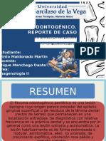 Quiste Dentigero, Revisión Bibliográfica y Presentación De