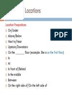 prepositions for describing location
