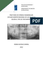 fracturas condilo mandibuar