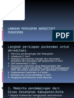 5.Langkah Persiapan Akreditasi Puskesmas