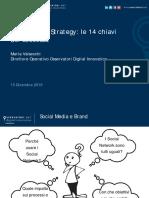 Webinar - 15-12-2016 - Social Media Strategy - Le 14 Chiavi Del Successo