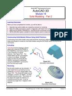 Autocad 3d Module 18 PDF