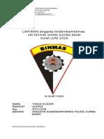 Laporan Perwaku Bhabinkamtibmas 2016