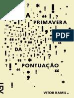 A Primavera Da Pontuacao - Vitor Ramil