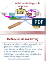 Marketing y Plan de Marketing v.P.