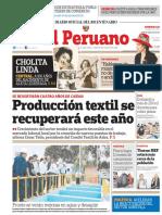 DIARIO OFICIAL EL PERUANO EDICION DOMINGO 26