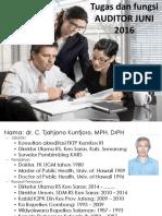 Tugas Dan Peran Auditor