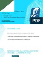 Peter Drucker  Historia de la Administración