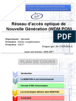 Cours Master WDMPON