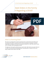Who Can Seek Orders in the Family Court Regarding a Child - WN Legal