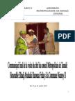Convention entre la Commune Niamey II et la Métroploe de Tamalé