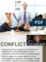 Theories of Conflict Occurence