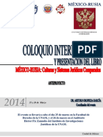 Programa Espanol Seminario Rusia 2014 Embajada