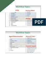 SAP Workflow Training Course Content