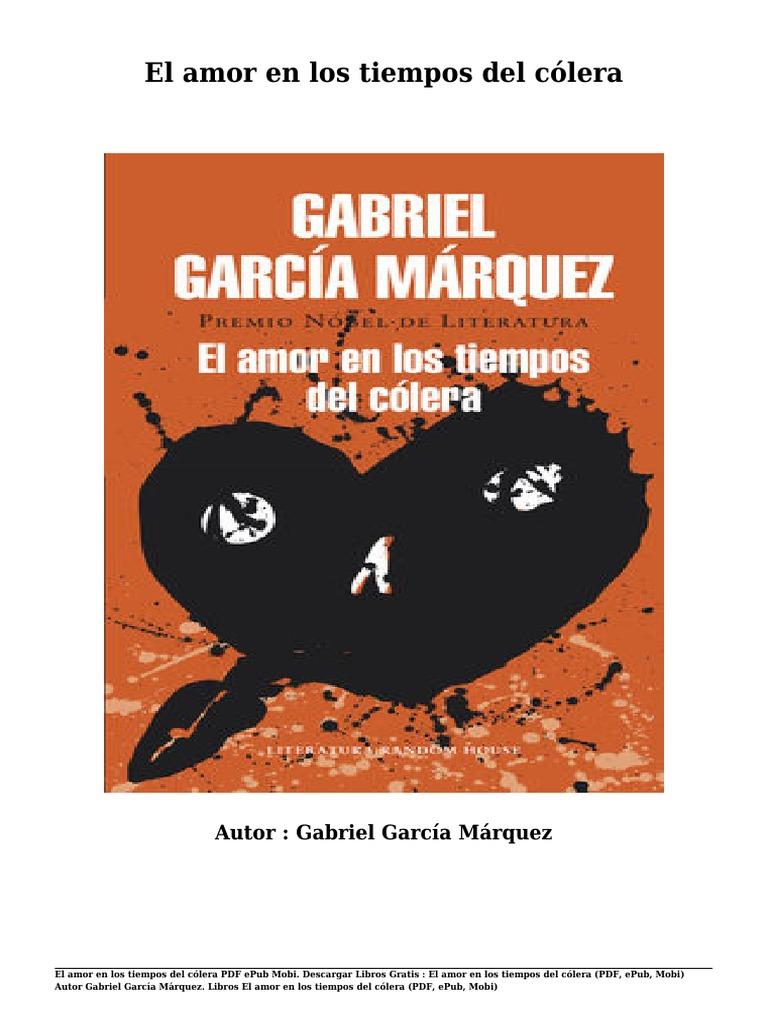 Descargar libros gratis el amor en los tiempos del c lera pdf epub mobi por gabriel garc a m rquez