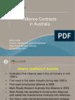 Alliance Contracts in Australia