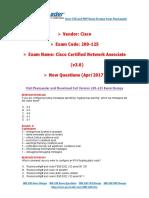 PassLeader 200-125 Exam Dumps
