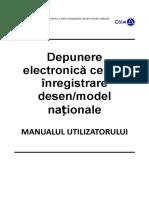 OSIM EFilingDS Manual RO