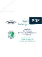 GIS Interpolation
