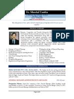 Resume - Sheetal Tantia Dec 2017