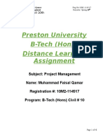 PM - Assignment