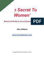 Secret to Women