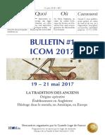 Bulletin ICOM 1