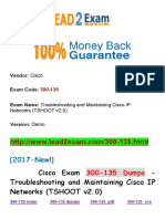 New Lead2exam Cisco 300-135 Dumps PDF -  Troubleshooting and Maintaining Cisco IP Networks (TSHOOT v2.0)