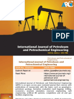 International Journal of Petroleum and Petrochemical Engineering -ARC Journals