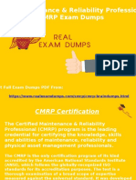 2017 CMRP Exam Braindumps - SMRP CMRP Exam Questions RealExamDumps.com